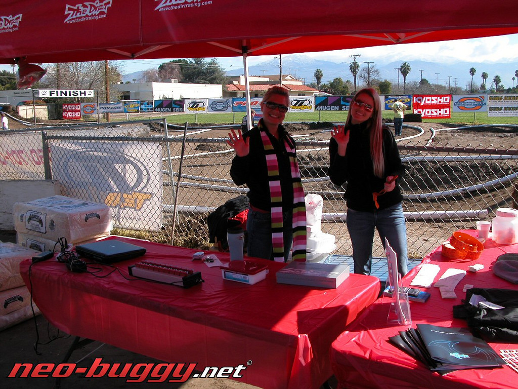 The Dirt booth at the DNC Hemet..Dirt Girls included with the set! lol