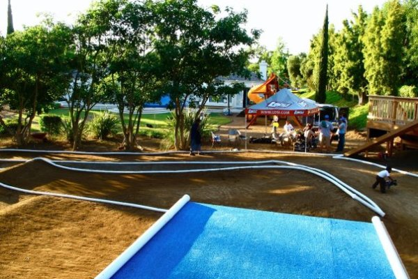 San Diego Chargers house track!!