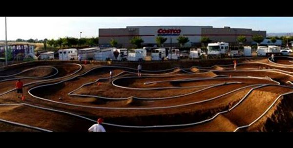 A-Main Hobbies track SilverDollar